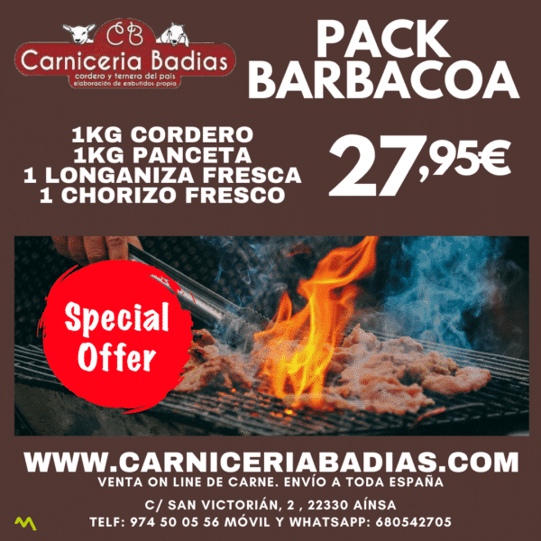 Pack Barbacoa Especial